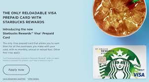 chase launches starbucks prepaid card
