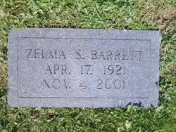 Zelma Smith Barrett (1921-2001) - Find A Grave Memorial