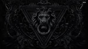 black lion wallpapers top free black