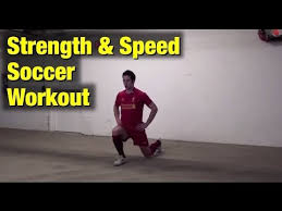 soccer workouts for strength and sd