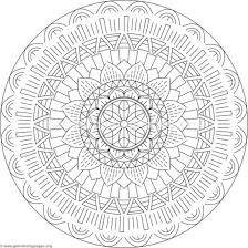 Flower Mandala Coloring Pages 137