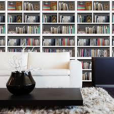 Winston Porter Library Bookshelf 4 Piece Wall Decal Set Reviews Wayfair