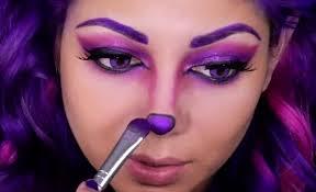 purple makeup look for