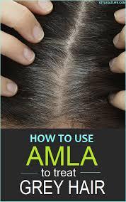 how to use amla powder to treat grey