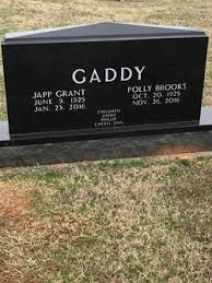 Polly Brooks Gaddy (1925-2016) - Find A Grave Memorial