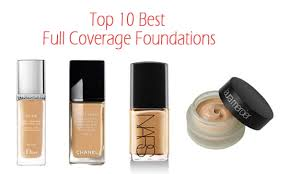 top 10 best full coverage foundations