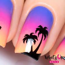 sunset nails nail art nail vinyls ebay