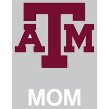 Texas A M Aggies 4x5 Mom Decal Fans United