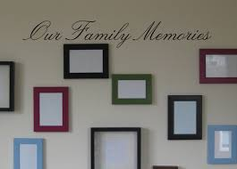 Our Family Memories Wall Decal 11 95 Arise Decals