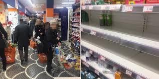 Coronavirus, psicosi a Napoli: supermercati presi d'assalto