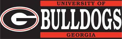 Georgia Bulldogs Vinyl Decal Ultimate Sports Apparel