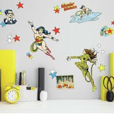 Wonder Woman Wall Decals Roommates Decor