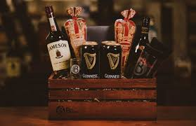the irish car gift basket