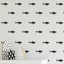 Shark Wall Decals Labeldaddy