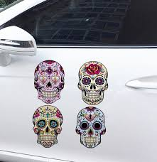 Top 10 Largest Sugar Skull Decal Ideas And Get Free Shipping 3jlani2i