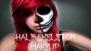 half skeleton half human