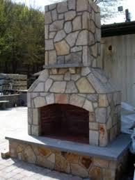 outdoor fireplace kit masonry outdoor
