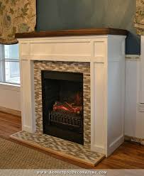 fireplace electric surround plans