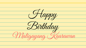 happy birthday in tagalog how to say pronunciation formal