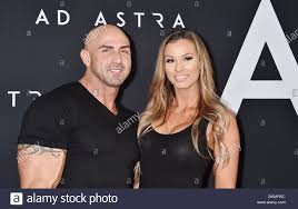 """HOLLYWOOD, CA - SEPTEMBER 18: Aaron Williamson and Brittany Olson attend  the premiere of 20th Century Fox's """"Ad Astra"""" at The Cinerama Dome on  September 18, 2019 in Los Angeles, California Stock Photo - Alamy"""
