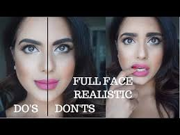 10 makeup mistakes the do s and don ts