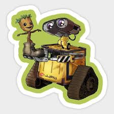 Wall E I Am Groot Best Friends Disney