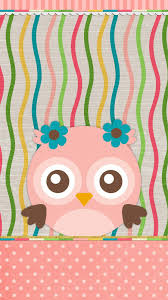 spring cute owl wallpaper for iphone