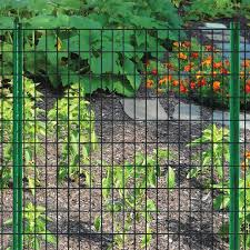 Blue Hawk 5 In X 6 Ft Powder Coated Steel Garden Fence U Post In The Fence Hardware Department At Lowes Com