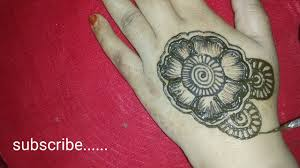 bunch design of mehndi