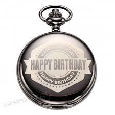 happy birthday gifts pocket watches