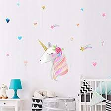 Home Kitchen Rainbow Zebra Wall Sticker Safari Animals Wall Decal Kids Home Decor Art Available In 8 Sizes Gigantic Digital Brigs Com