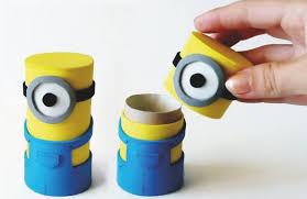 Manualitats: Fer caixetes amb forma de Minions per amagar secrets