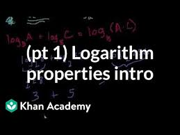 intro to logarithm properties 1 of 2