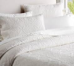 hanna cotton linen blend quilt shams