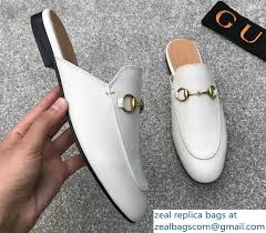 gucci princetown horsebit leather