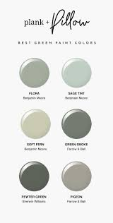 our favorite green paint colors plank