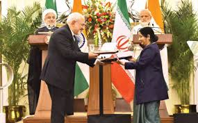 india iran sign 9 mous agree on