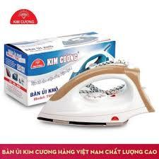 Bàn ủi khô Kim Cương T602 ( 1,000 W ) ( Màu Nâu )