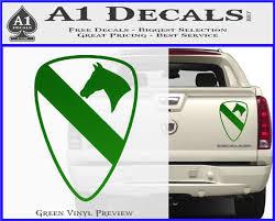 1st Cavalry Decal Sticker A1 Decals