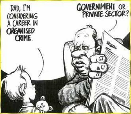 "Image result for ""organised crime"" new zealand labour national cartoon"""