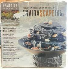 homedics wf rock rock garden tabletop