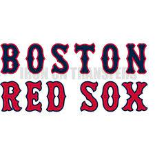 Custom Boston Red Sox Wall Car Stickers Number1472 Wall Car Stickers 00541 Boston Red Sox Wall Stickers