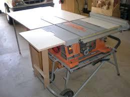 Saw Addons Portable Table Saw Table Saw Diy Table Saw