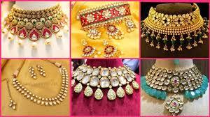bridal kundan jewellery designs