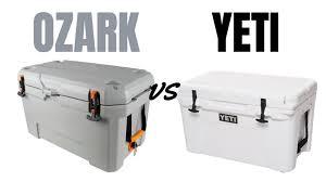 ozark trail coolers vs yeti over half