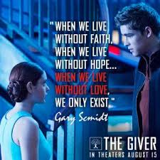 what eve thinks the giver quotes that define us