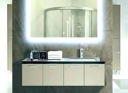 illuminated wall mirror