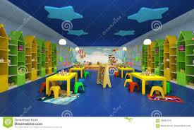 3d Render Of Modern Kids Game Room Stock Illustration Illustration Of Corridor Comfortable 105691519