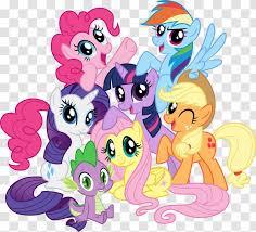 My Little Pony Pinkie Pie Twilight Sparkle Fluttershy Transparent Png