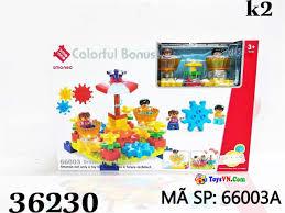 Đồ chơi xếp hình lắp ráp bánh răng cho trẻ em - Mã SP: 66003A - Đồ Chơi Trẻ  Em - ToysVN.Com